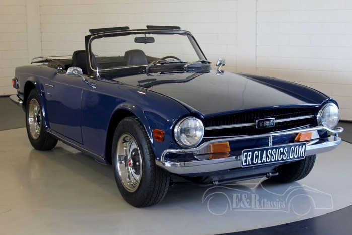 triumph tr6 cabriolet 1972 vendre erclassics. Black Bedroom Furniture Sets. Home Design Ideas