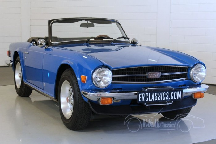 triumph tr6 cabriolet 1976 vendre erclassics. Black Bedroom Furniture Sets. Home Design Ideas