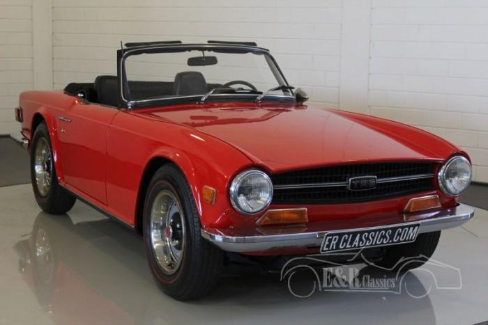 Triumph TR6 Roadster 1970  a vendre