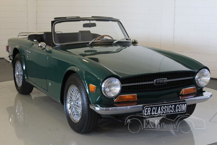 triumph tr6 cabriolet 1971 vendre erclassics. Black Bedroom Furniture Sets. Home Design Ideas