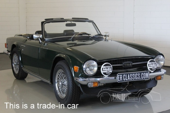triumph tr6 roadster 1971 lhd vendre erclassics. Black Bedroom Furniture Sets. Home Design Ideas