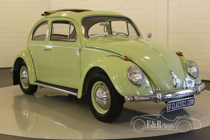 VW Coccinelle 1961 Dickholmer Faltdach a vendre