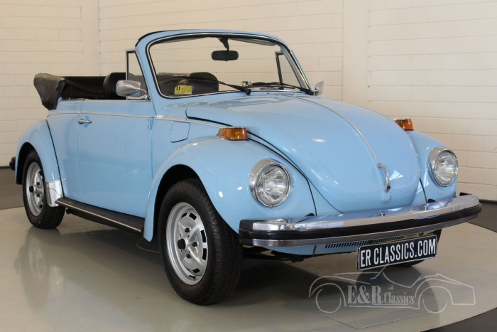 VW Beetle Cabriolet 1979  a vendre