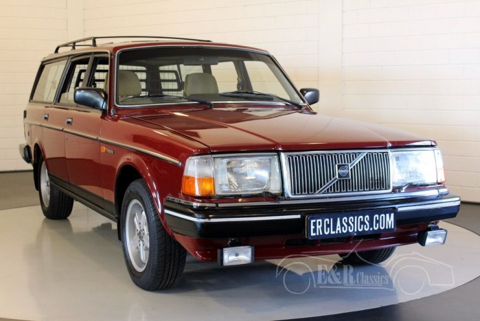 Volvo 240 GL Station 1986  a vendre
