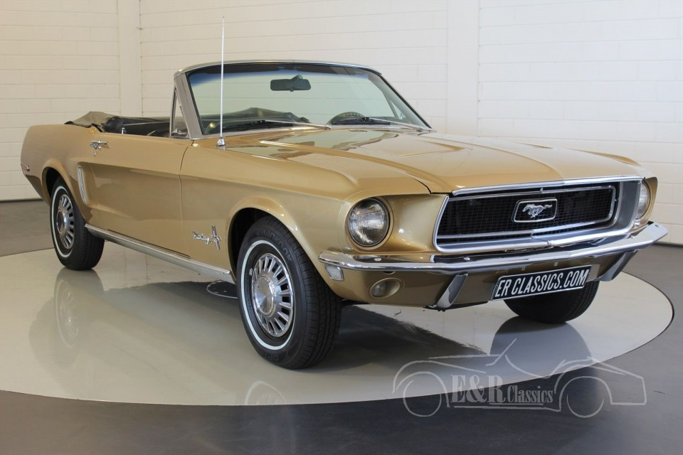 ford mustang cabriolet v8 1968 vendre erclassics. Black Bedroom Furniture Sets. Home Design Ideas