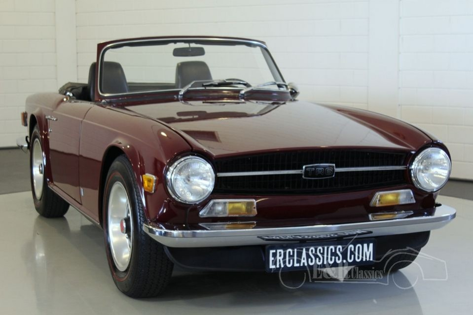 triumph tr6 cabriolet 1969 vendre erclassics. Black Bedroom Furniture Sets. Home Design Ideas