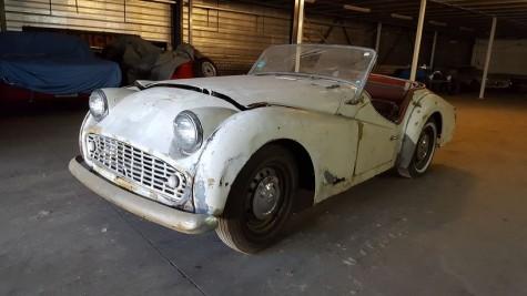 Triumph TR3 B 1962 a vendre