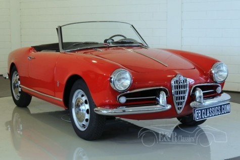 Alfa-Romeo Giulietta Spider 750D  a vendre