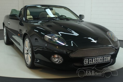 Aston Martin DB7 V12 2001  a vendre