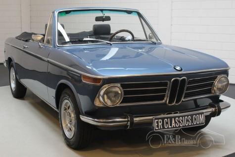 BMW 1600 Baur cabriolet 1970 a vendre