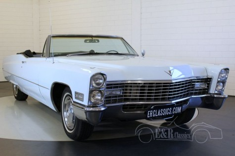 Cadillac DeVille cabriolet 1967  a vendre