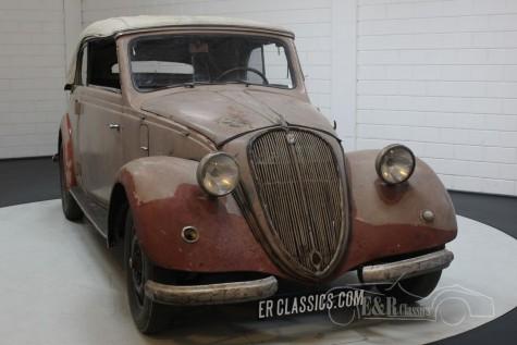Barnfind 6-cyl NSU-Fiat 1500 Gläser Cabriolet 1938 a vendre