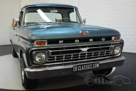 Ford F100 Custom Cab Pickup 1966  a vendre