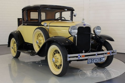 Ford Model A Deluxe coupe 1930  a vendre