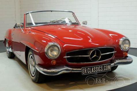 Mercedes-Benz 190SL 1962 cabriolet a vendre