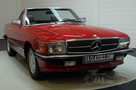 Mercedes Benz 380SL Cabriolet 1985  a vendre