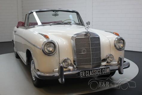 Mercedes-Benz 220SE Ponton Cabriolet 1960 a vendre