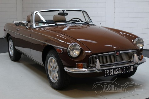 MG B Cabriolet 1980  a vendre