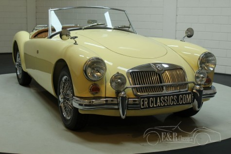 MG A 1600 cabriolet 1959  a vendre