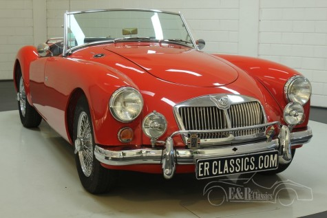 MG A Cabriolet 1962  a vendre
