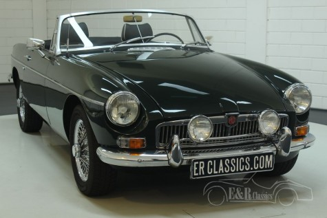 MG B cabriolet 1966  a vendre