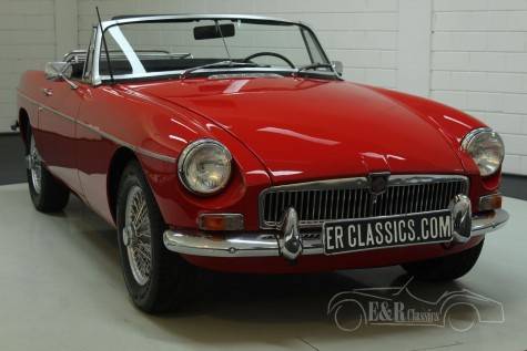 MG B cabriolet 1968  a vendre