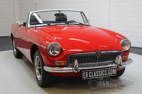 MG B Cabriolet 1974 a vendre
