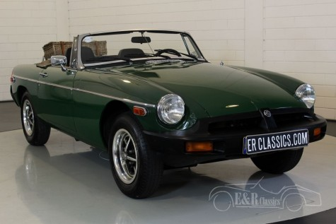 MG B cabriolet 1978  a vendre