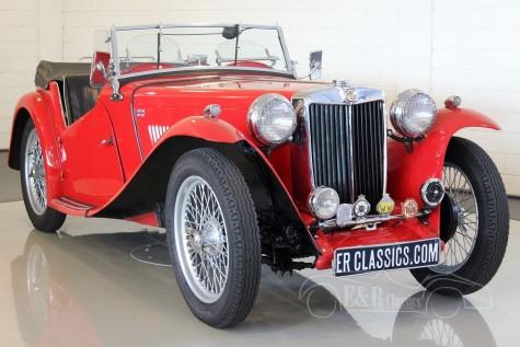 MG TC Roadster 1948 a vendre