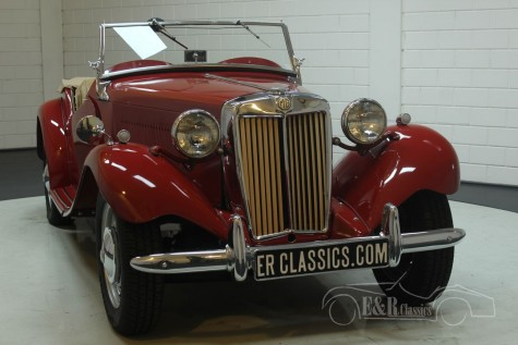MG TD Cabriolet 1951  a vendre