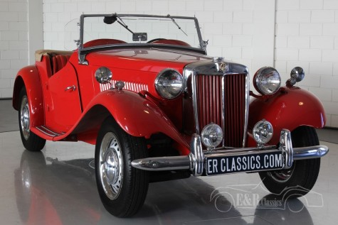 MG TD 1952 Roadster  a vendre