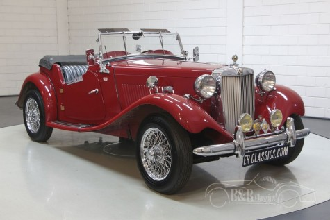 MG TD Cabriolet a vendre
