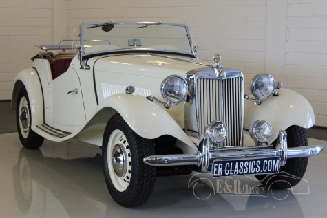 MG TD Cabriolet 1952 a vendre