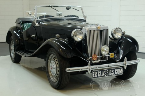 MG TD Roadster 1952  a vendre
