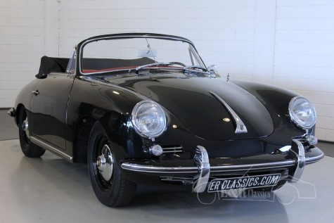 Porsche 356B 1600 cabriolet 1963 a vendre