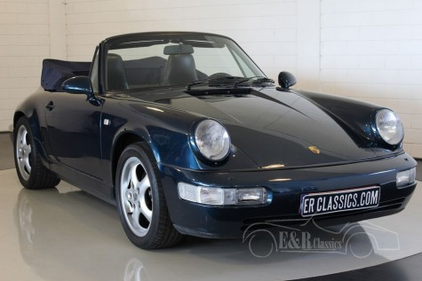 Porsche 911 964 Carrera 2 cabriolet 1991 a vendre