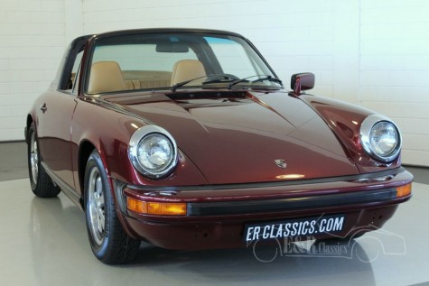 Porsche 911 S Targa Smallbody 1975 a vendre