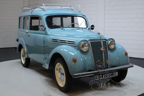 Renault Juvaquatre Dauphinoise 1957 a vendre