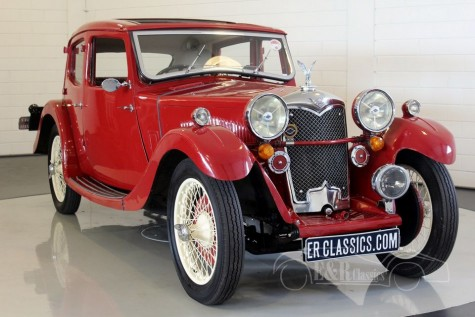 Riley Kestrel Light Saloon 1934 a vendre
