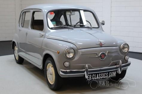 Fiat Seat 800 étendue 600 1967 Très rare a vendre