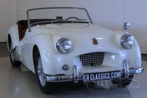 Triumph TR2 roadster Long Door 1954 a vendre