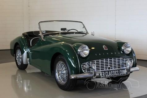Triumph TR3A Cabriolet 1958 a vendre
