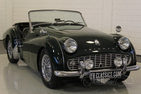 Triumph TR3A Cabriolet 1960  a vendre