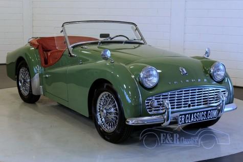 Triumph TR3A Roadster 1959 a vendre