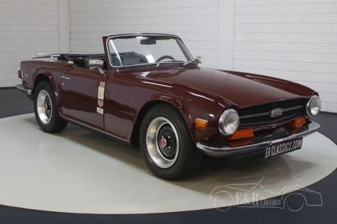 Triumph TR6 a vendre