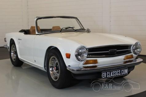 Triumph TR6 cabriolet 1972  a vendre