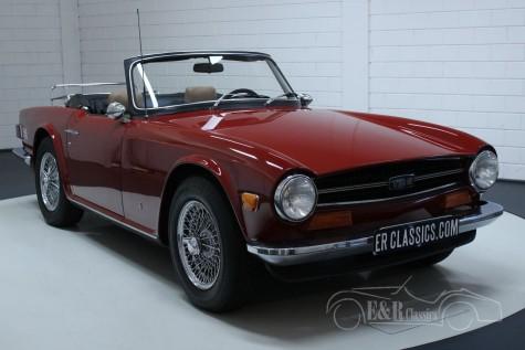 Triumph TR6 1973 a vendre