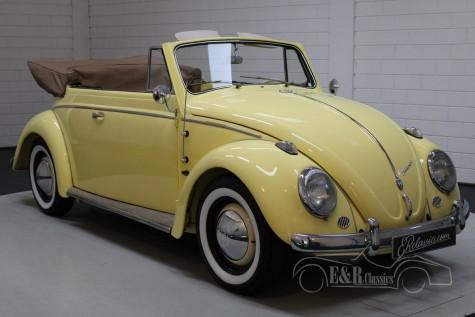 Volkswagen 1200 cabriolet 1963 a vendre