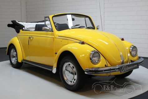 VW Beetle convertible 1968  a vendre