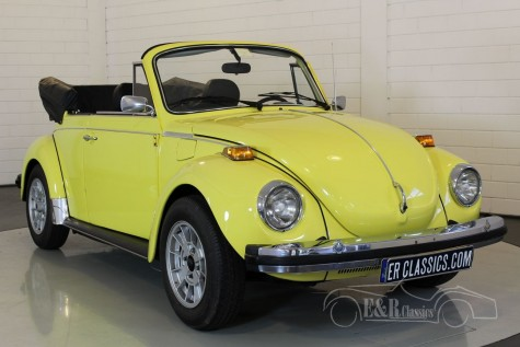 Volkswagen Coccinelle cabriolet 1979  a vendre